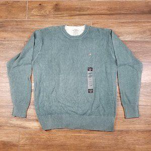 Vintage RALPH LAUREN American FLAG LOGO Sweater L